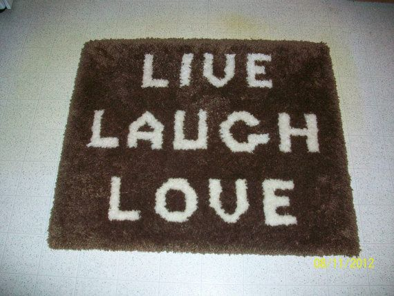Latch Hook Rug by Doreenscreations101 on Etsy, $35.00