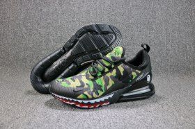 3e7a1fbd5a Various Styles A Bathing APE x Nike Air Max 270 Flyknit Shark Green  Camouflage AH6799 003 Men's Running Shoes Sneakers