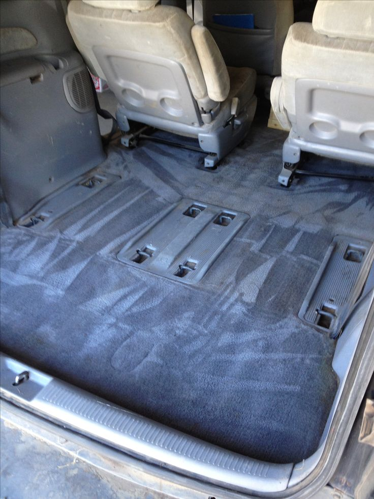 1 cup white vinegar 1 cup fabreeze ( homemade 1/8 c fab softener,      2 tablespoons baking soda, fill spray bottle w hot water)  1/2 cup oxyclean A dash of dish soap Fill w hot water  Carpet cleaner!  Even did the seats!