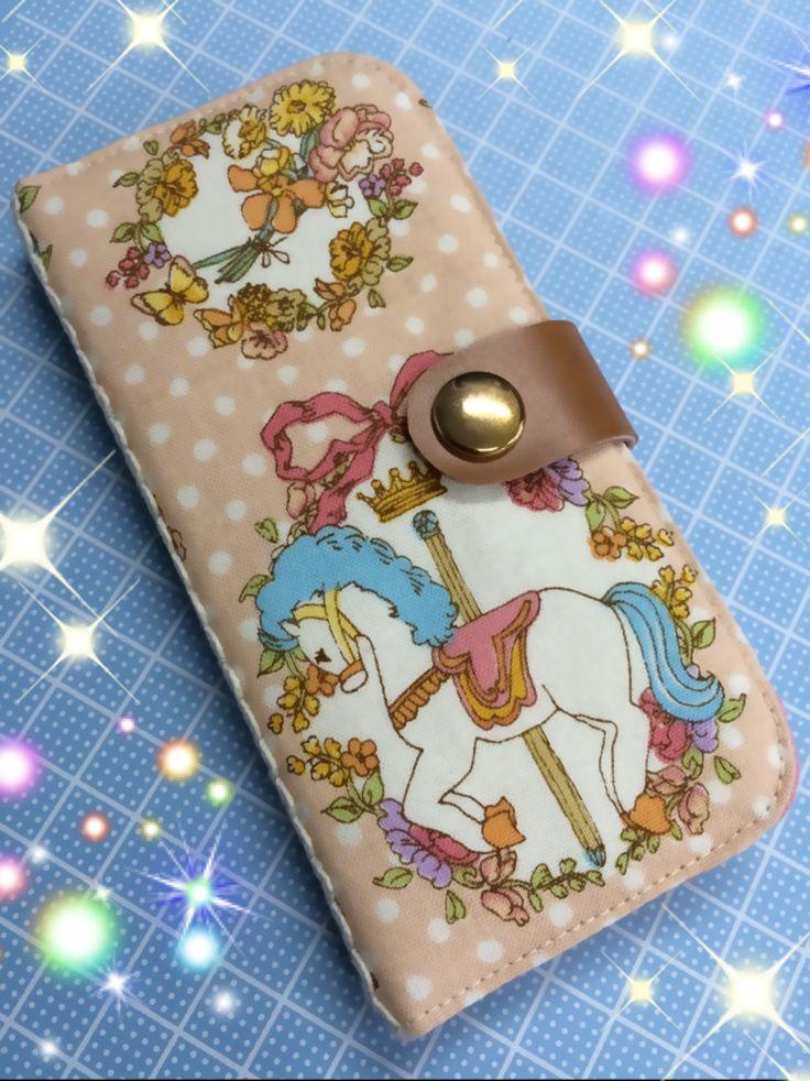MiA工房 手帳型スマホケースの作り方 DIY phone cover