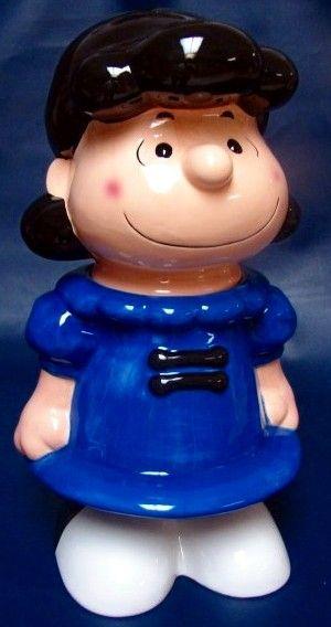 *PEANUTS LUCY ~ Cookie Jar
