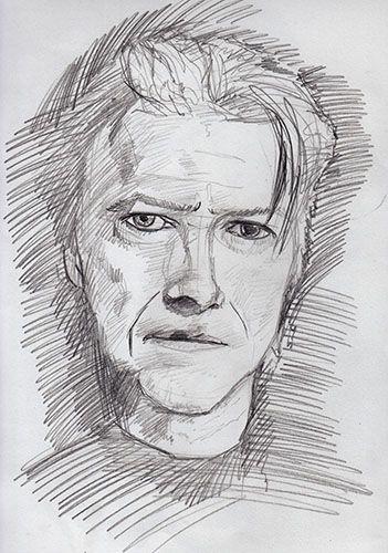 A Sketch of David Bowie