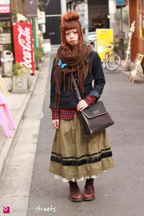 boho_area: 森ガール, mori girl или лесная девушка