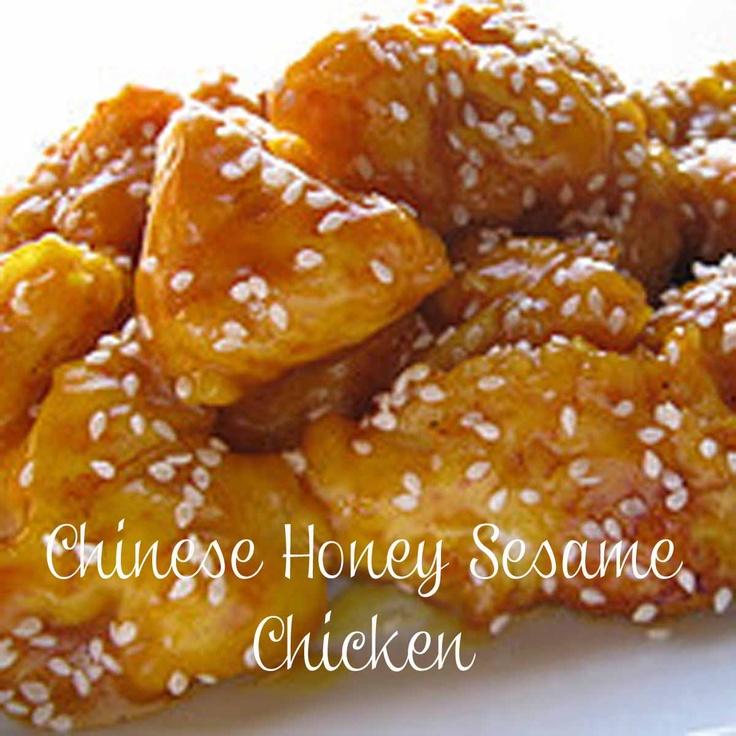 Chinese Honey Sesame Chicken | The Main Dish | Pinterest