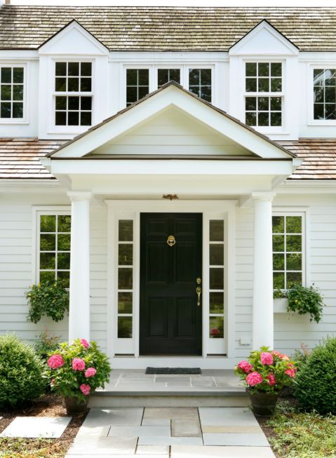 Old fixtures often seem dated and unappealing to buyers. By contrast, new exterior light fixtures can quickly give a home an updated look.  While you're at it, replace the house numbers, the entry-door lock set and front-door mailbox. Brushed nickel gives a contemporary look, while an oiled bronze finish works well in traditional homes. #CurbAppeal #Frontyard #HomeDesign #Seattle #DreamHome #RealEstate #SeattleRealEstate #SeattleRealtor #SeattleHomes