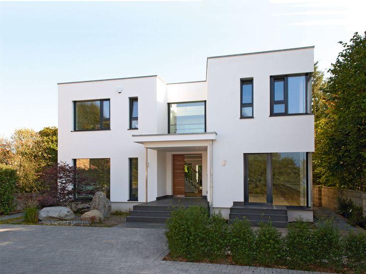 Musterhaus modern flachdach  46 besten Holzhaus Bilder auf Pinterest | Grundrisse ...
