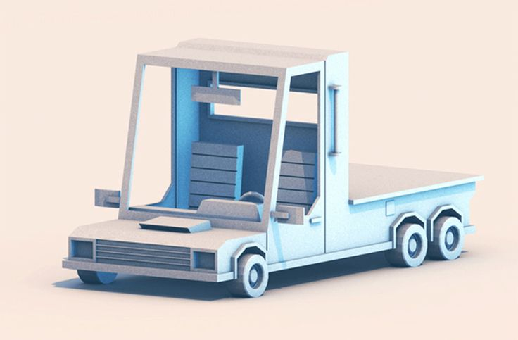 http://www.turnislefthome.com/206637/2156612/3d-work-fun/low-poly-vehicles