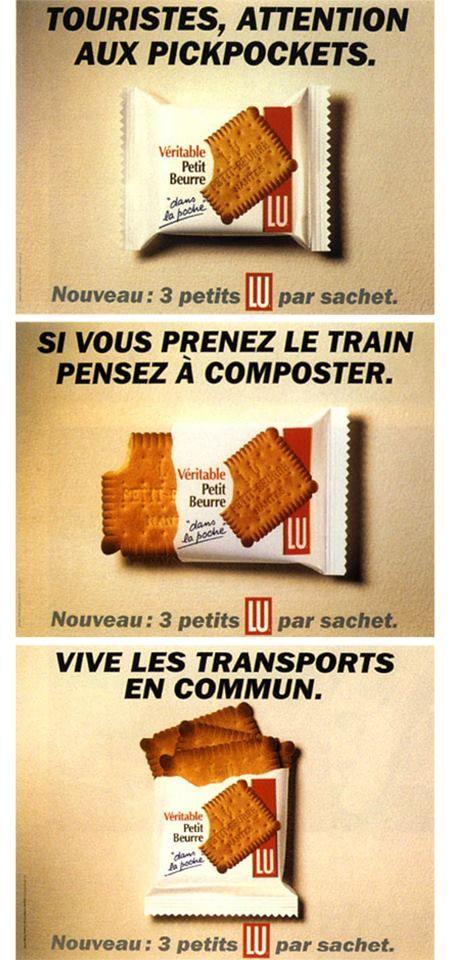Quand les petits #LU prennent le train... (1995 - #BETC)