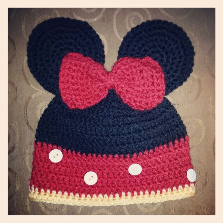 134 best Crochet - Mickey And Minnie Mouse ! images on Pinterest ...