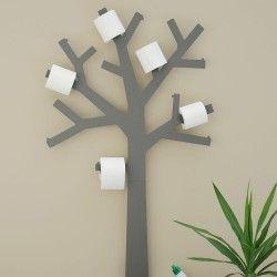Arbre à papier toilette - Pqtier Gris
