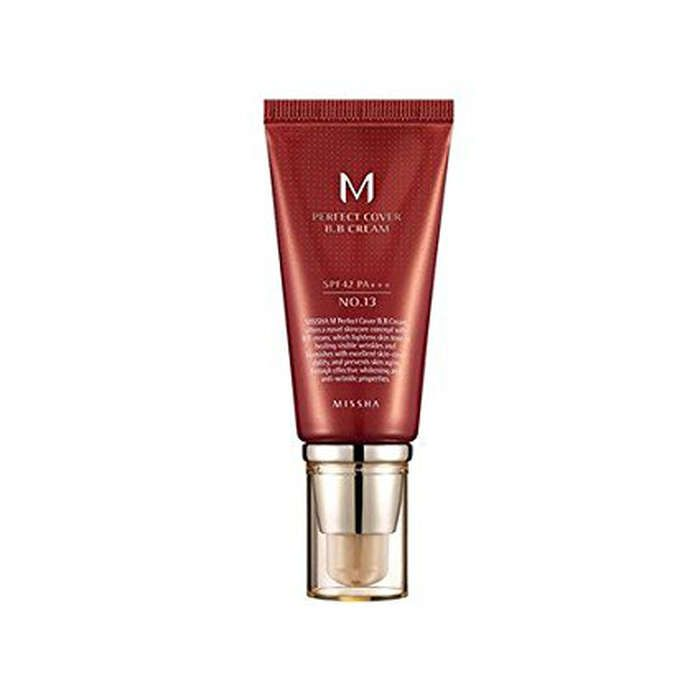 Ranked high on rank and style -  Missha M Perfect Cover BB Cream - low coverage and makes skin look great