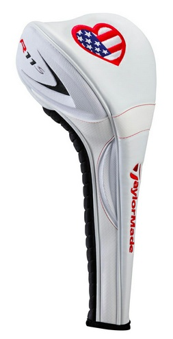 """Limited Edition TaylorMade """"Driver Love"""" USA headcover - portion of proceeds benefit wounded warriors golf programs"""