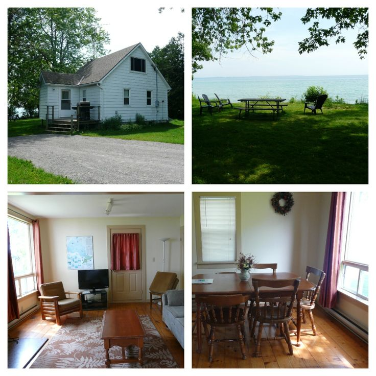 Jacques Cottage, Sandbanks Provincial Park  http://www.ontarioparks.com/park/sandbanks#Cottages