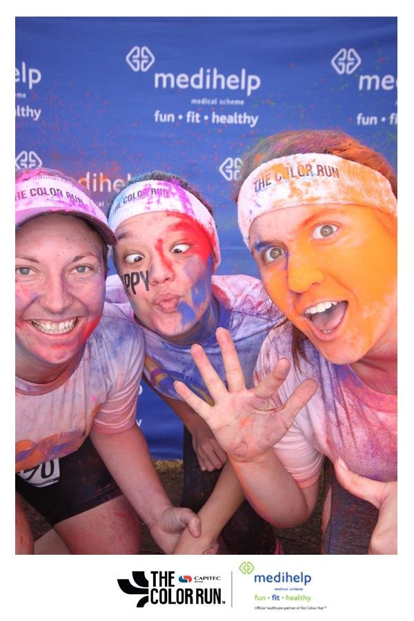 The Color Run PE event took place on Sunday, 12 June.  Here is some proof of all the fun that Color Runners had. Feel free to tag yourself and all your friends! *If you can't find your picture here, you can visit our website for all the pictures taken at Medihelp's photobooth.  Go to www.medihelp.co.za/the-color-run, find your picture – it will be filed under your initials – and download.
