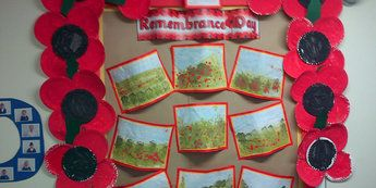 History, Remembrance Day, Poppies, Poppy, War, World War, Remember, Display, Classroom Display, Early Years (EYFS), KS1 & KS2 Primary Teaching Resources