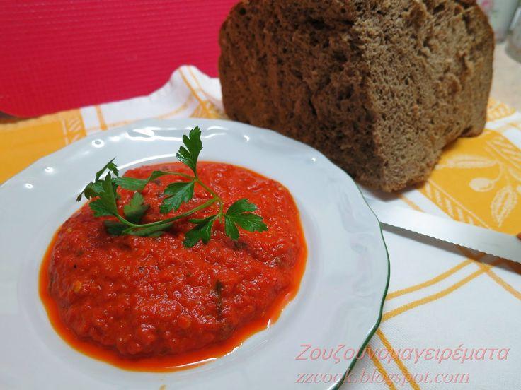 Ζουζουνομαγειρέματα: Σάλτσα πιπεριάς!