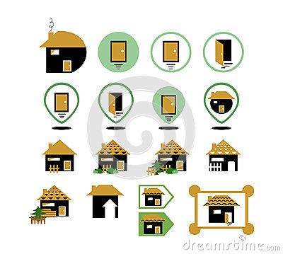 Set of different #home #icons