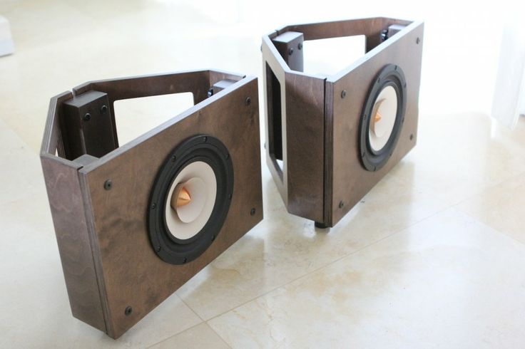 'Cube' – Solo and Tower, modular, self-assembly Open Baffle Speakers