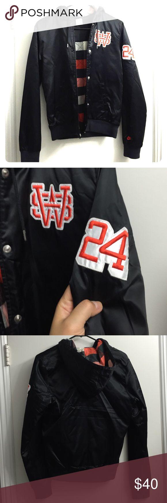 Women's Nike Varsity Jacket Authentic and like new. Nike Jackets & Coats