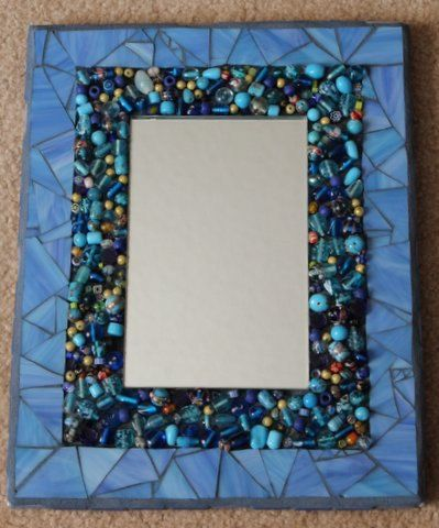 How To Decorate A Mirror With Mosaic Tiles 373 Best Mosaic Mirrors Images On Pinterest  Mirrors Mosaic