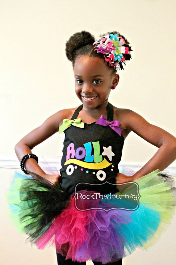 Rock And Roller Skate Tutu Outfit