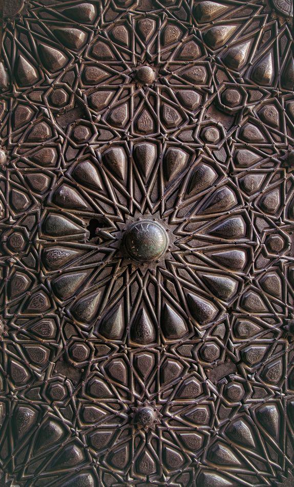 Felix Inclusis | markscottphotography: Mosque door in Cairo, Egypt 2012