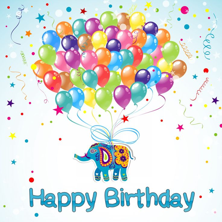 Unique Happy Birthday Elephant Ideas On Pinterest Birthday - Free childrens birthday verses for cards