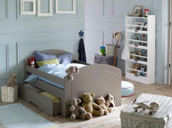 chambre garcon bleu gris - Modele De Chambregarcon Ado Blanc Et Gris