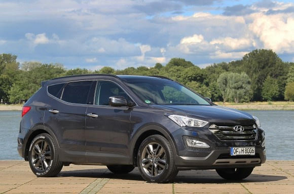 2012 Hyundai Santa Fe Price Release - Side Front VIew