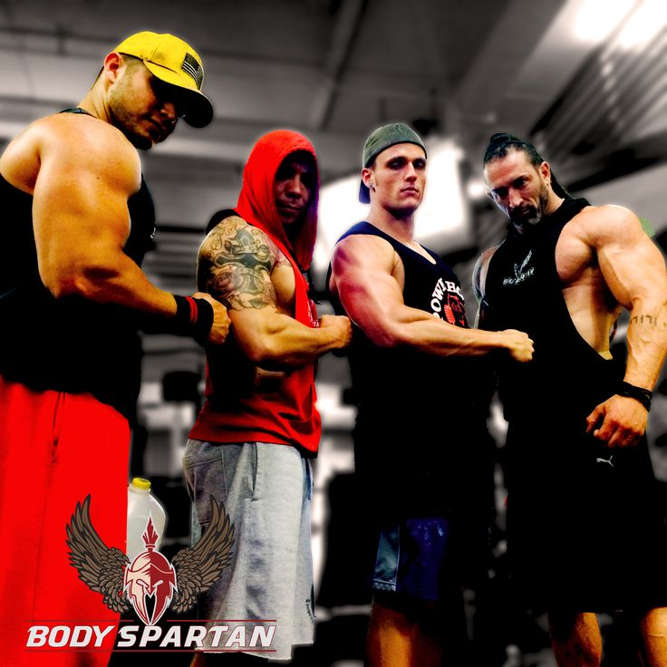 Team Body Spartan with Gabe tuft and John Foster reppin' the ...