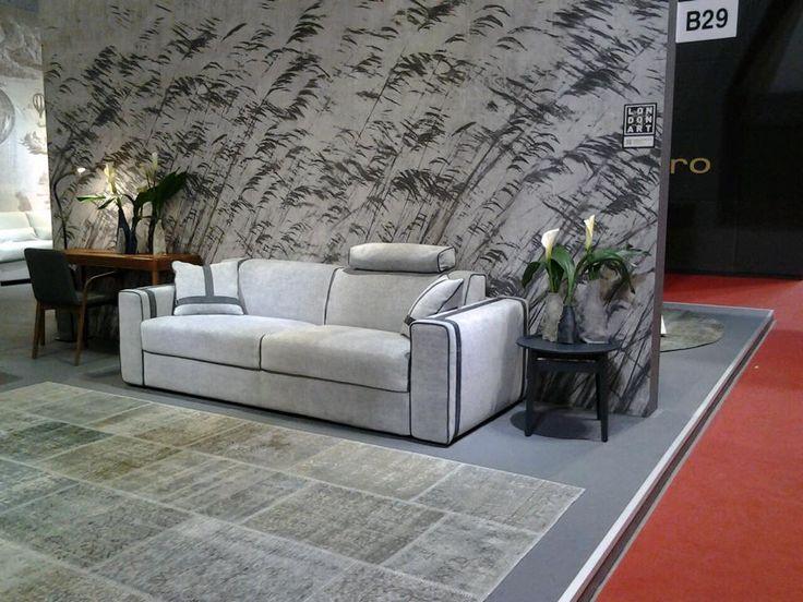 Ellington, the sofabed at iSaloni