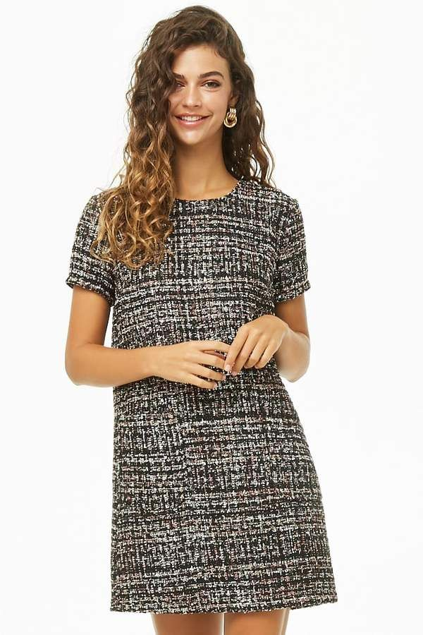 581d1c62052 Forever 21 Tweed Mini Dress - Check it out now  dress  forever21   womensfashion  fashion  style