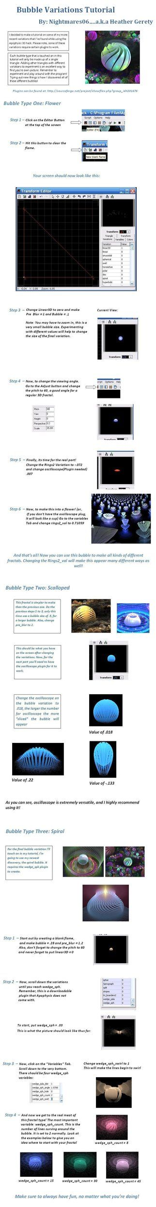 Bubble Variation Tutorial by nightmares06 on DeviantArt