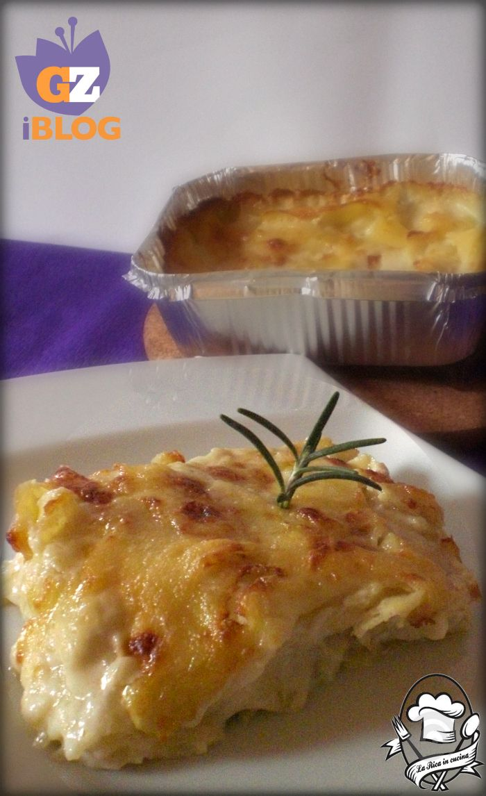 Tortino di patate gratinate § buono §