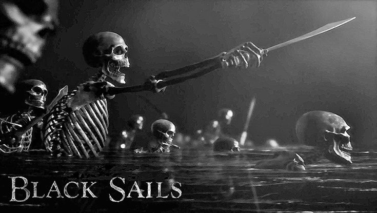 black sails | In Black Sails as in history, there were thousands of pirates sailing ...