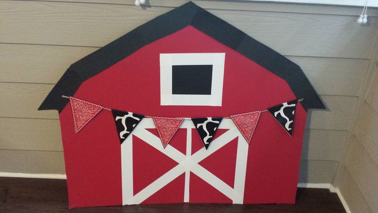 I have posted a lot of things I have made for my son's farm theme party in previous posts, so today I am posting how to build a b...