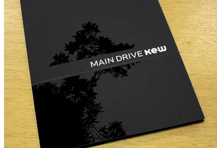 Black on Black Presentation Folder Design (BENJAMIN L HAY : Online Design Portfolio :: TOdesign : 2003-2010)