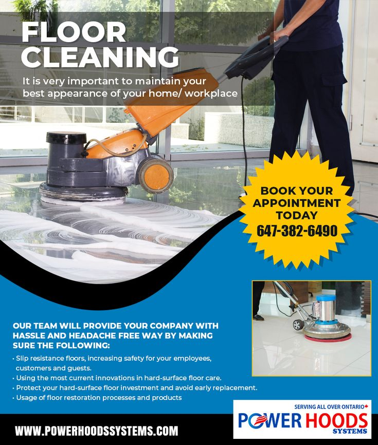 Floor Cleaning Services in Toronto, Brampton, Mississauga