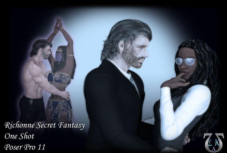 #Richonne Secret Fantasy~ Two shy and nerdy accountants, sitting at lunch having a daydream. https://www.fanfiction.net/s/12468882/1/  #ASMSG #TWD #shortstory