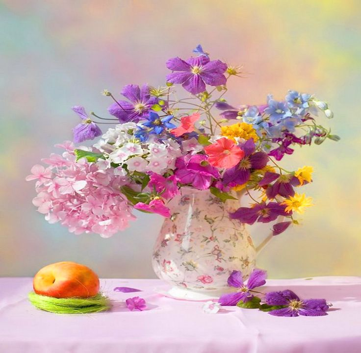 51 Best Morning Fruit, Flowers & Coffee Images On