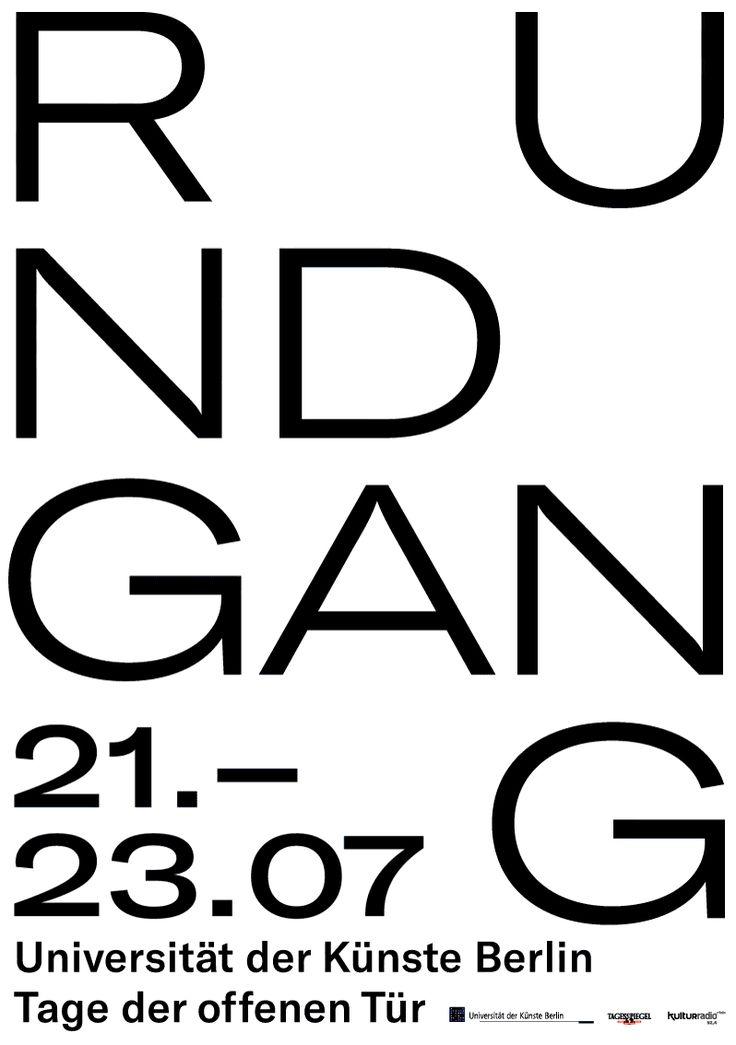 "elias-hanzer: ""Rundgang Poster for UdK Berlin >elias_hanzer """
