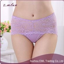 Wholesale mid-waist hot top selling seamless women's sexy lace transparent panty   Best Buy follow this link http://shopingayo.space