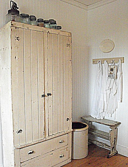 Rustic cupboard/pantry/wardrobe ~ multiple uses
