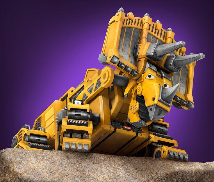 Dinotrux Character Pose Ten30 Studios Publicity