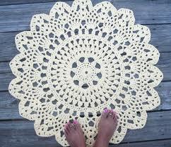 doily carpet crochet pattern - Google-haku