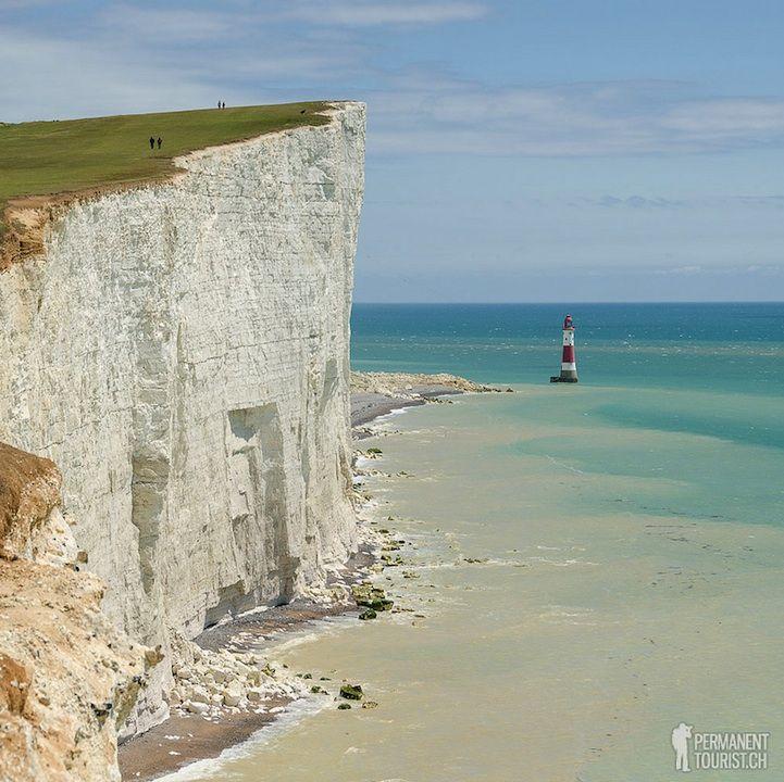 England's Breathtakingly Beautiful Chalk Cliffs - My Modern Met
