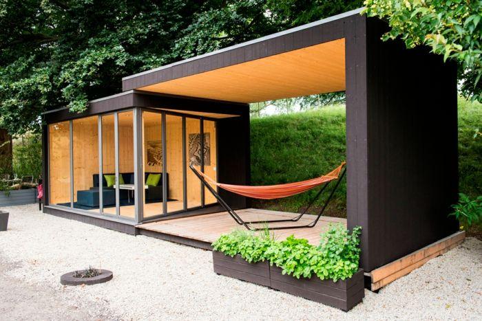 38 best chalet de jardin images on Pinterest | Backyard cottage ...