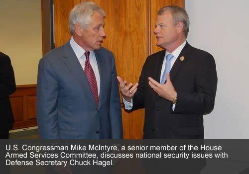 Congressional representative Mike McIntyre