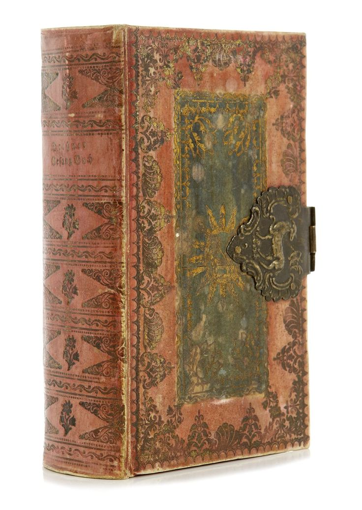 Books up to the mid 19th-century, being precious objects, were often given a binding so sumptuous that some of these books today are valued higher as objects of art than for their contents.