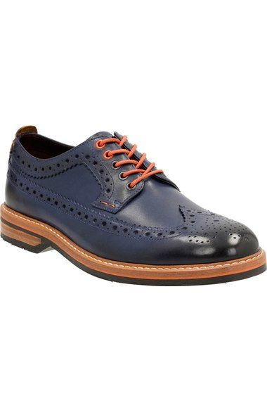 Clarks® 'Pitney - Limit' Wingtip (Men) available at #Nordstrom